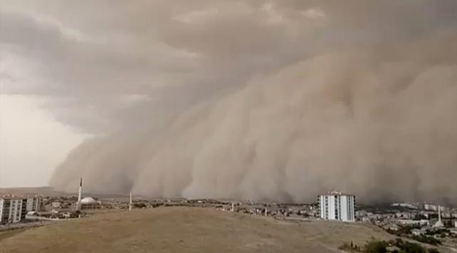 Meteorolojiden Kırıkkale için toz fırtınası uyarısı