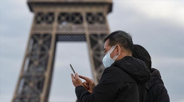 Fransada son 24 saatte 10 bin 561 vaka tespit edildi