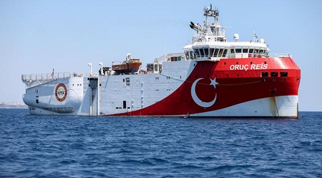 Navtex süresi doldu, Oruç Reis Antalya Körfezine demirledi