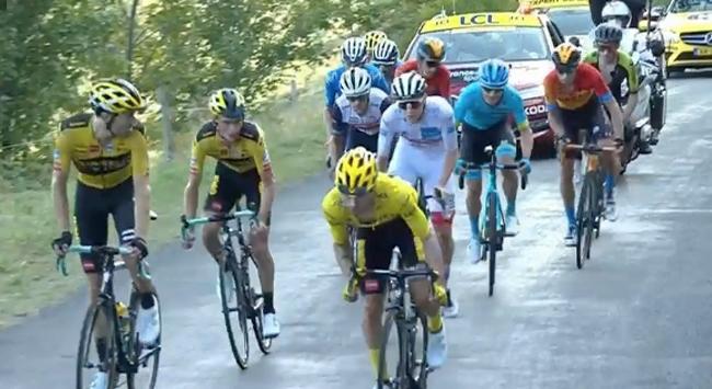 Fransa Bisiklet Turunda 15. etap geçildi