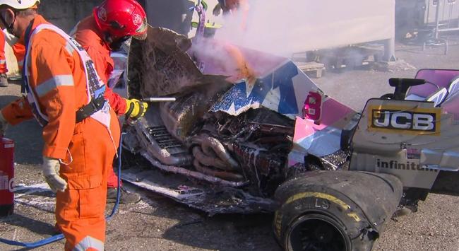 Formula 1de olaylı yarış