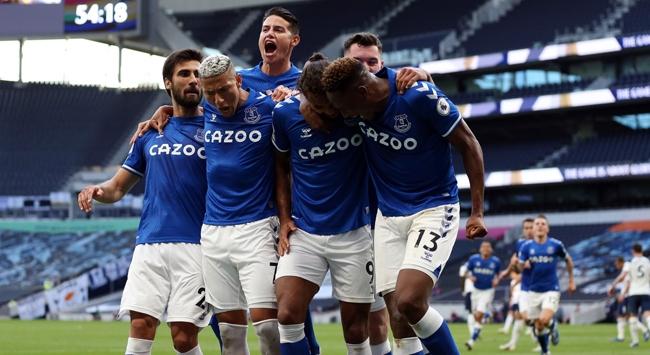 Everton, Tottenham karşısında 8 yıl sonra kazandı