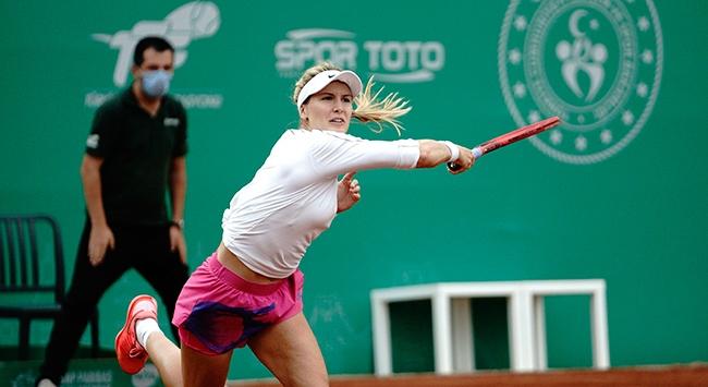 İstanbulda teklerde şampiyon Patricia Maria Tig