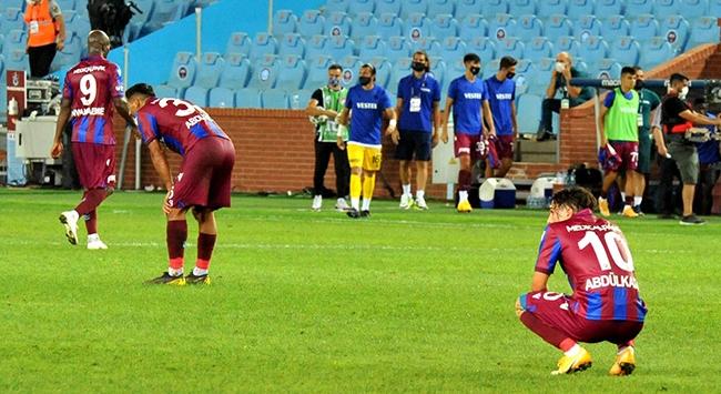 Trabzonsporun yenilmezlik serisi son buldu