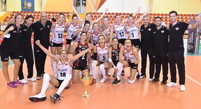 Türk Hava Yolları ikinci kez Balkan Kupasında şampiyon