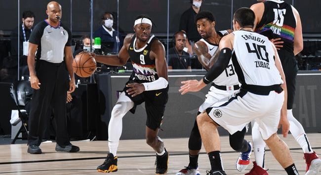 NBAde Denver Nuggets, seriyi son maça taşıdı