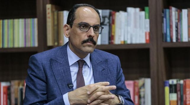 Cumhurbaşkanlığı Sözcüsü Kalından Doğu Akdeniz açıklaması