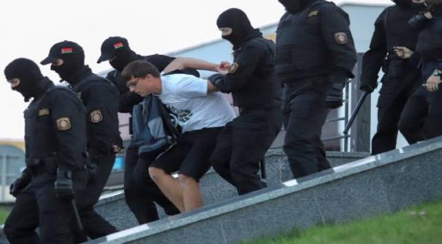 Belarustaki protestolarda dün 774 kişi gözaltına alındı