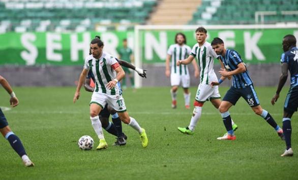 Bursaspor bir kez daha sezona puansız başladı