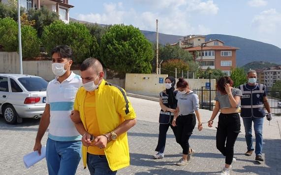 Bursada gasp şüphelisi 5 kişi yakalandı