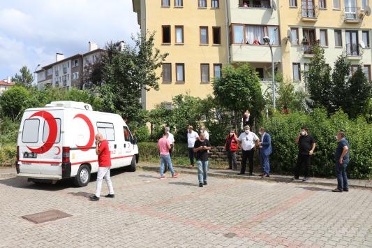 Suriyede görevli Türk Kızılay personelinin şehadet haberi ailesine verildi