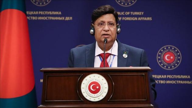 Bangladeş Dışişleri Bakanı Momen: Türk kardeşlerimiz yanımızdaydı