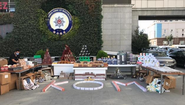 İstanbulda kaçak puro operasyonunda 1 şüpheli gözaltına alındı