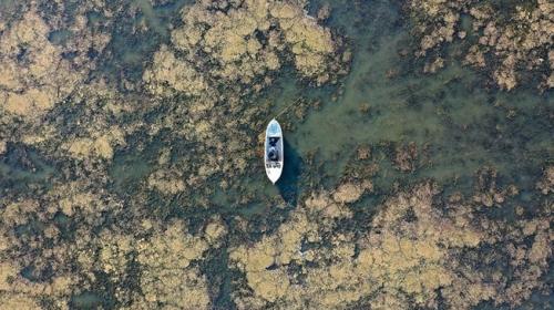 Marmara Gölü'nde derinlik 1 metreye düştü