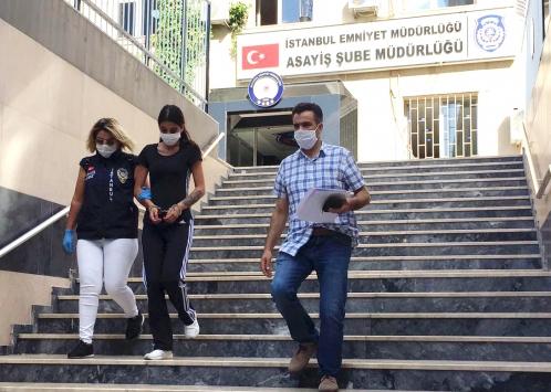 İstanbulda evlerden hırsızlık yapan şüpheli tutuklandı