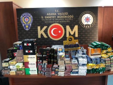 Adanada kaçakçılık operasyonunda 4 şüpheli yakalandı