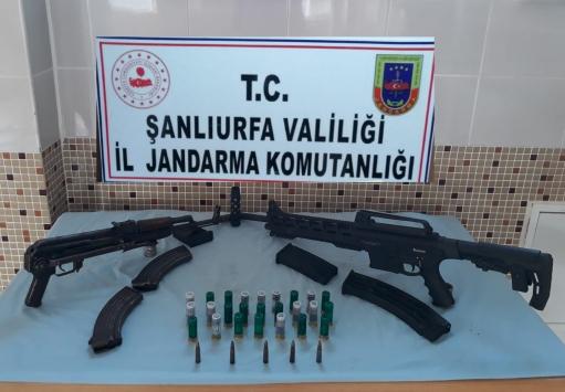 Şanlıurfada silah kaçakçılığı operasyonunda 3 zanlı tutuklandı