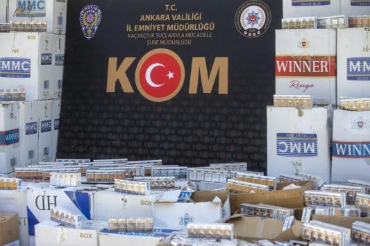 İmha edilmesi gereken sigaraları sattığı belirlenen firmaya operasyon