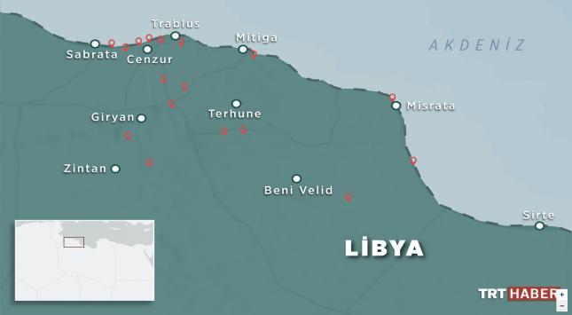 TRT Haber ekibinden Libya notları