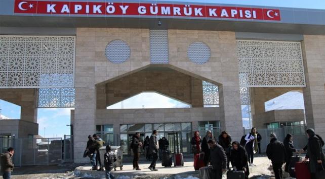 Kapıköy Gümrük Kapısı yaya geçişlerine açılıyor