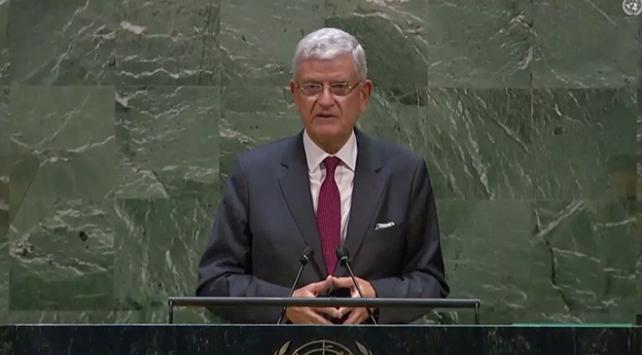Volkan Bozkır BM 75. Genel Kurul Başkanlığı görevine başladı