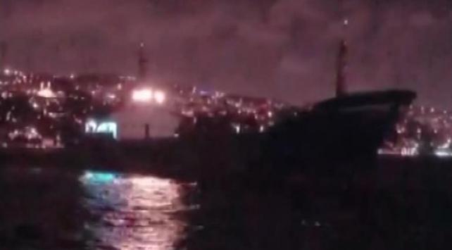 İstanbul Boğazında sürüklenen gemi kurtarıldı