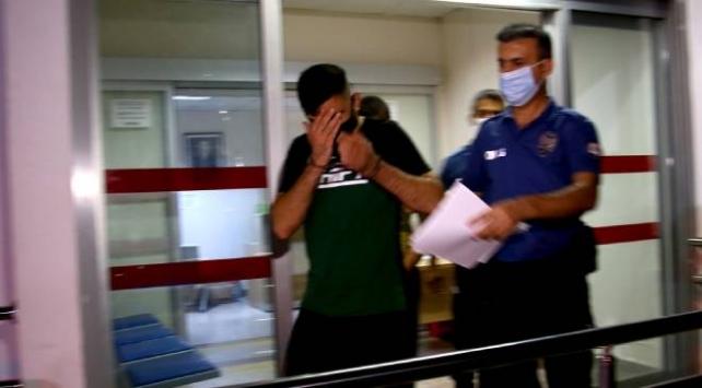 Kız arkadaşını darbeden ve 9. kattaki balkondan sarkıtan kişi yakalandı