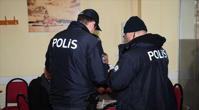 Kumar oynadıkları belirlenen 38 kişiye 38 bin lira ceza