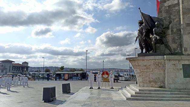 Ertuğrul Fırkateyni şehitleri Beşiktaşta anıldı