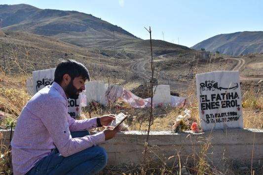Hakkaride 10 yıl önce PKKnın katlettiği siviller anıldı