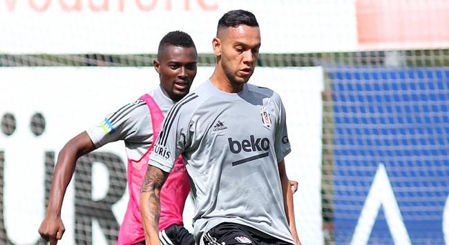 Josef de Souza Beşiktaşta ilk antrenmanına çıktı