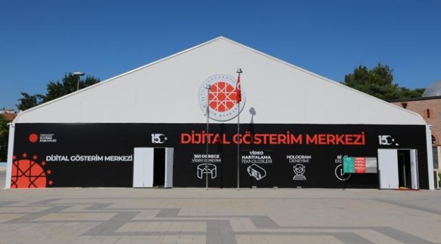 Türk donanmasının zaferleri Dijital Gösterim Merkezinde