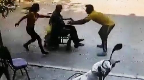 Yaşlı adamı kurtaran genç: Ona bir şey olmasın, bize olsun dedim