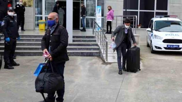 Rizede karantinayı ihlal eden 15 kişi yurda yerleştirildi