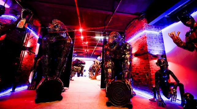 Rusyada 100 ton hurdadan üretilen eserler bu müzede sergileniyor
