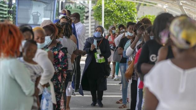 Güney Afrika Cumhuriyetinde COVID-19 vaka sayısı 655 bin 500ü geçti