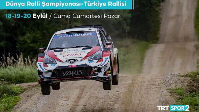 Dünya Ralli Şampiyonası canlı yayınla TRT Spor 2'de