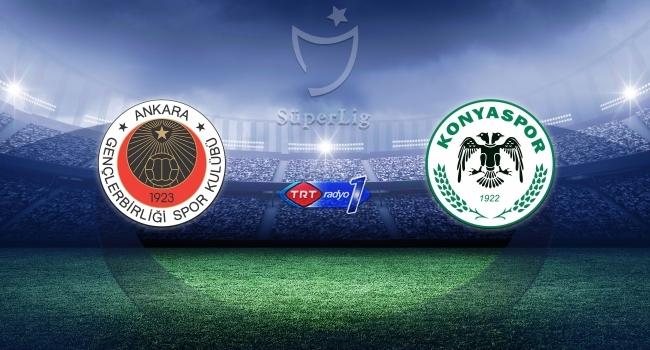 Gençlerbirliği Konyasporu ağırlayacak