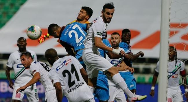 Trabzonspor ile Denizlispor 41. randevuda