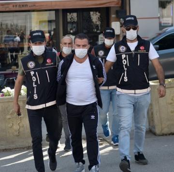 Eskişehirde uyuşturucu operasyonunda 5 şüpheli yakalandı