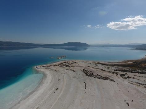"""Saldanın """"Beyaz Adalar"""" bölgesinde göle girilmesi yasaklanabilir"""