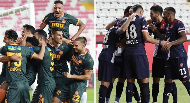 Antalyanın Süper Lig ekipleri 2de 2 peşinde