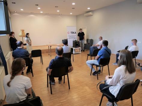 TİKAdan Hırvatistanda 3 boyutlu modelleme ve yazıcı eğitimi