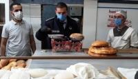 Malatya'da ekmek gramajı eksik olan pide fırınlarına ceza