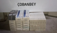 Kilis'te 193 kaçak cep telefonu ve 380 paket kaçak sigara ele geçirildi