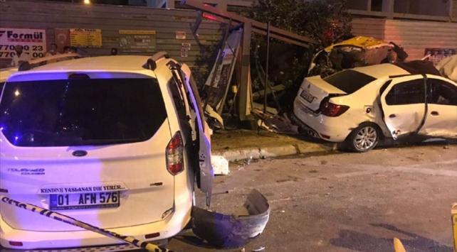 Adanada zincirleme trafik kazası: 6 yaralı