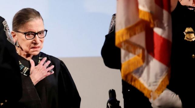 ABD Yüksek Mahkemesi Yargıcı Ginsburg hayatını kaybetti