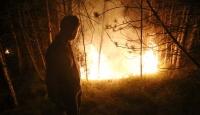 Vatandaşlar seferber oldu, yangın evlere 150 metre kala durduruldu