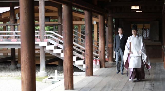 Japonyada Abeden tartışmalı tapınağa ziyaret