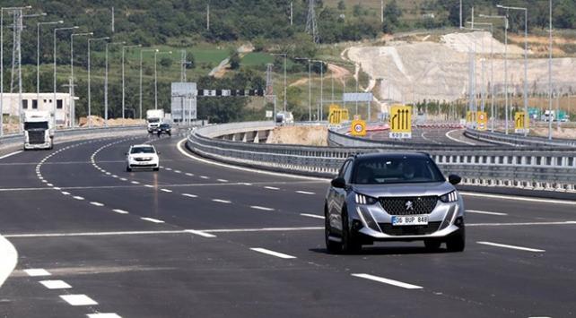Kuzey Marmara Otoyolunun Gebze-İzmit etabı açıldı